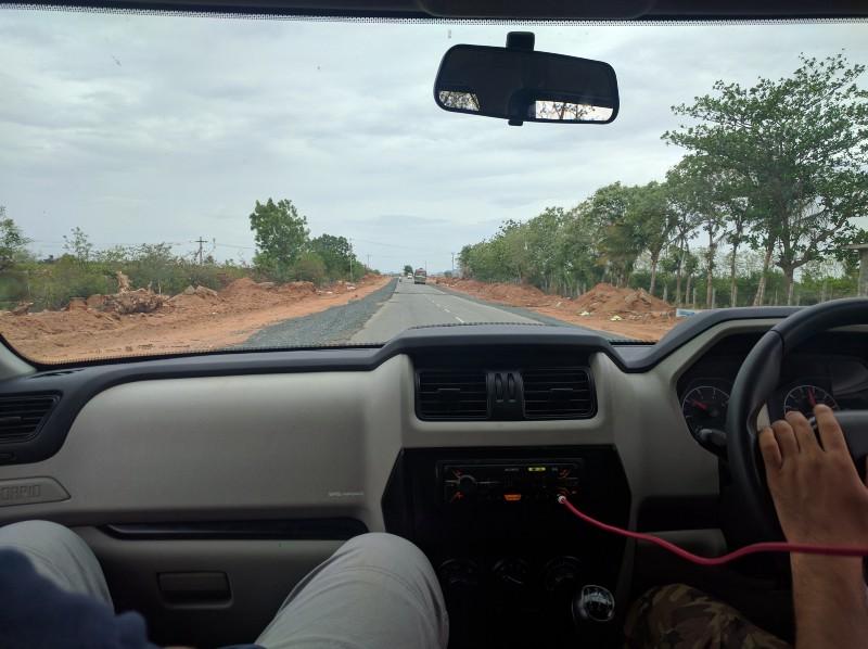 Drive to Nagarjuna Sagar